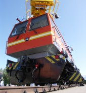 The first lot of track vehicles was sent to Turkmenian Railways