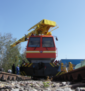 Another 4 track vehicles were shipped to Turkmenistan. This time Turkmenistan railways get MPT-6 mk.4