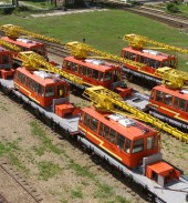 TMCP Vorovsky sent the last lot of MPT-6 maintenance vehicles to Turkmen Railways in August