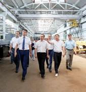 Губернатор Краснодарского края посетил Тихорецкий машиностроительный завод